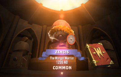 Zengis at first