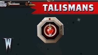 Official World of Warriors Talismans
