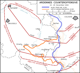 Ardennes Counteroffensive Map