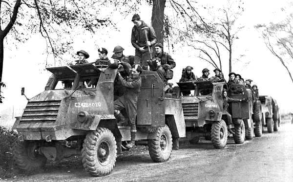 File:Members of the Royal Hamilton Light Infantry in C15TA trucks in Krabbendijke, Netherlands, October 17, 1944.jpg
