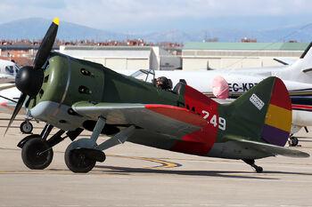 Polikarpov I-16 Tipo 24 EC-JRK (8441772130)