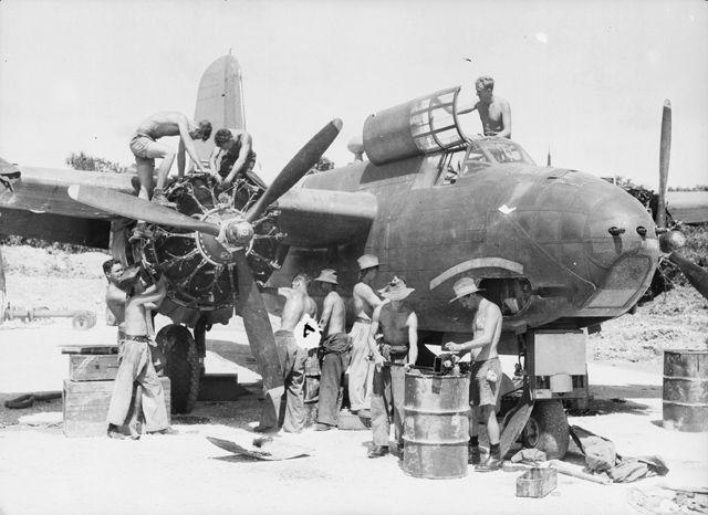 File:A-20 Maintenance, Australia.jpg