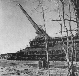 K. (E) Railway Gun 2