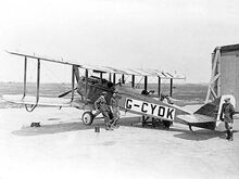 De Havilland DH4 ExCC