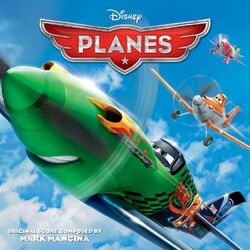 Planes soundtrack cover