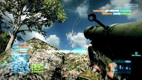 Battlefield 3 How to use the FIM-92 Stinger SA-18 IGLA