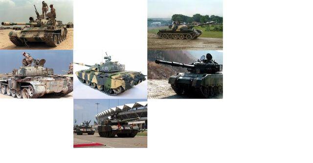 File:T-59, T-59I, T-59II, T-59IIA, T-59D, T-59P and T-59G.jpg