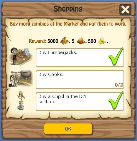 Task, Shopping