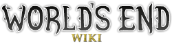 World's End Wiki Wordmark