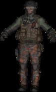 A Mercenary commando