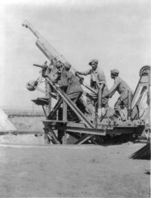 French 75mm AA gun Salonika Front WWI LOC LC-USZ62-48585