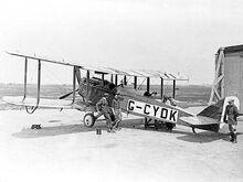 De Havilland DH4 ExCC