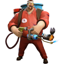 Survivor4 epic Flamethrower