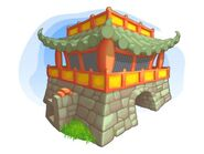Concept of the Oriental Keep