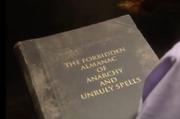 Forbidden spell book inspector calls
