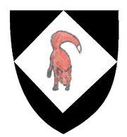 Red Fox Crest Shield
