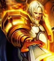 Tirion in Call of the Crusade