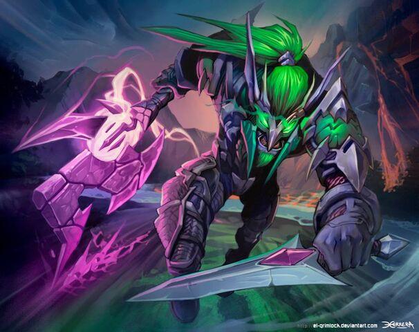 File:Warcraft night elf rogue by el grimlock-d6wy6sl.jpg