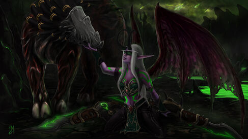 Demon hunter by yunela-d9dwf6c
