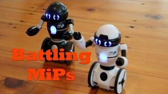 MiP Robots Battle It Out. Watch MiP and Friends Battle To The Death!-0