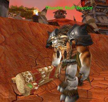 Thunder Bluff Warrior