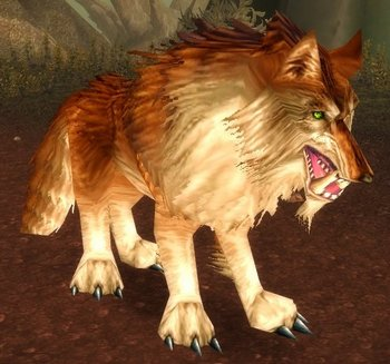 Thunderlord Dire Wolf