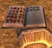 Rackmore's logbook