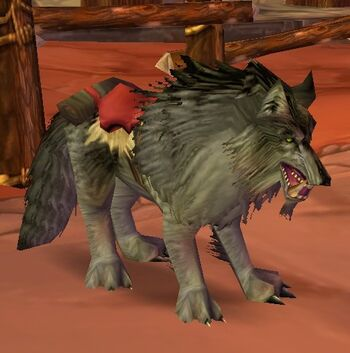 Dire Riding Wolf