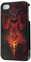 IP1457-Deathwing iPhone4 case