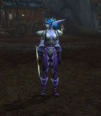 Night Elf Sentinel