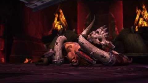 Garrosh's death cinematic