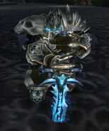 Wounded lich king