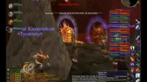 WoW Tyraenny Kill Molten Core - Majordomo Executus