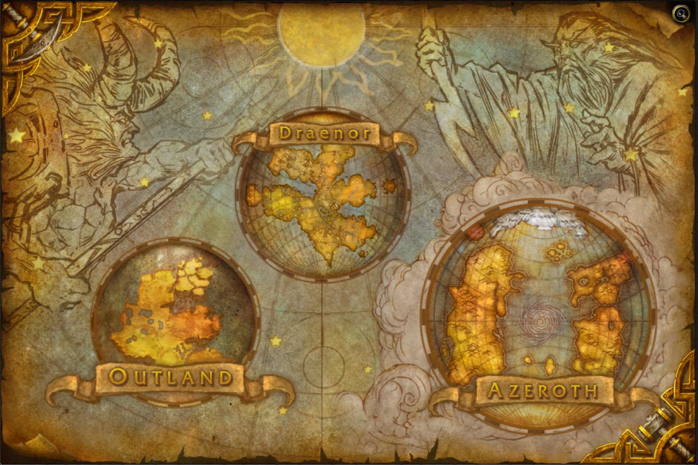 warlords of draenor maps wowwiki fandom powered by wikia