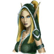 Alleria colored by seishyn