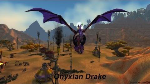 Mount Onyxian Drake - World of Warcraft