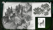BlizzCon Legion Suramar city concept art