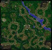 King Arthas Map