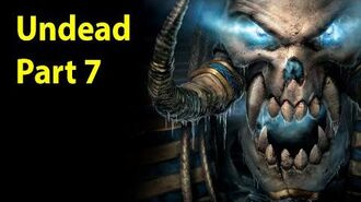 Warcraft 3 Gameplay - Undead Part 7 - The Siege of Dalaran