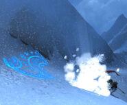 Seeker's Folly avalanche-close-call screenshot
