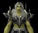 Black Dragonscale Shoulders