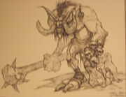 Dark troll concept art