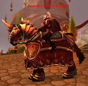 Dawnblade Blood Knight (Mounted)