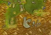 The Steam Pools in Feralas map