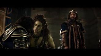 Warcraft The Beginning - King Llane asks Garona for help(Universal Pictures)