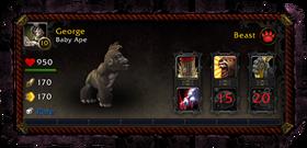Battle pet characteristics window unnumbered