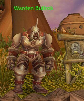 Warden Bullrok