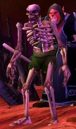 Bleeding Hollow Skeleton