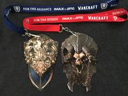 Lanyards front-WarcraftMovie-FanFirstEvent