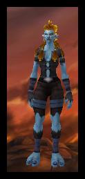 Troll Female Tattered Cloth Armor Set